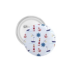 Seaside Nautical Themed Pattern Seamless Wallpaper Background 1 75  Buttons
