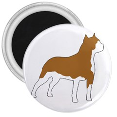 American Staffordshire Terrier  Silo Color 3  Magnets