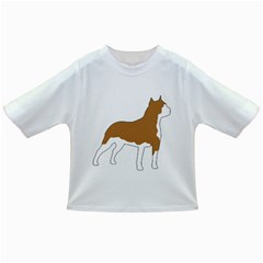 American Staffordshire Terrier  Silo Color Infant/Toddler T-Shirts
