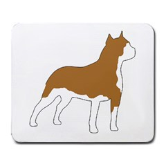 American Staffordshire Terrier  Silo Color Large Mousepads