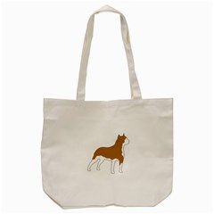 American Staffordshire Terrier  Silo Color Tote Bag (Cream)