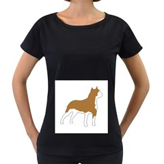 American Staffordshire Terrier  Silo Color Women s Loose-Fit T-Shirt (Black)