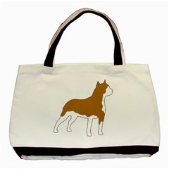 American Staffordshire Terrier  Silo Color Basic Tote Bag