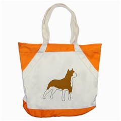 American Staffordshire Terrier  Silo Color Accent Tote Bag