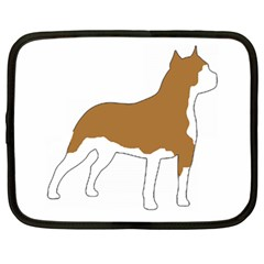 American Staffordshire Terrier  Silo Color Netbook Case (Large)