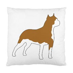 American Staffordshire Terrier  Silo Color Standard Cushion Case (Two Sides)