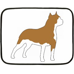 American Staffordshire Terrier  Silo Color Fleece Blanket (Mini)