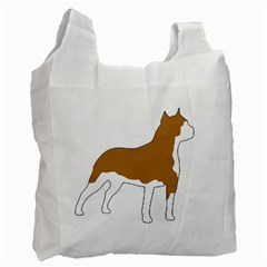 American Staffordshire Terrier  Silo Color Recycle Bag (One Side)
