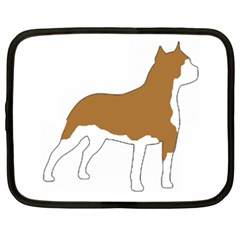 American Staffordshire Terrier  Silo Color Netbook Case (XXL)