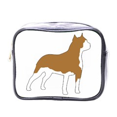 American Staffordshire Terrier  Silo Color Mini Toiletries Bags