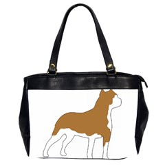 American Staffordshire Terrier  Silo Color Office Handbags (2 Sides)