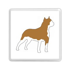 American Staffordshire Terrier  Silo Color Memory Card Reader (Square)