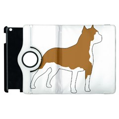 American Staffordshire Terrier  Silo Color Apple iPad 2 Flip 360 Case