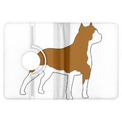 American Staffordshire Terrier  Silo Color Kindle Fire HDX Flip 360 Case