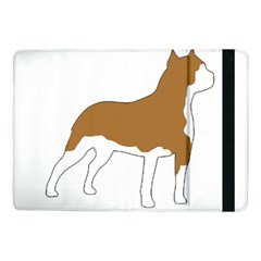 American Staffordshire Terrier  Silo Color Samsung Galaxy Tab Pro 10.1  Flip Case