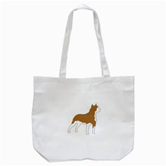 American Staffordshire Terrier  Silo Color Tote Bag (White)