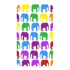 Rainbow Colors Bright Colorful Elephants Wallpaper Background Memory Card Reader