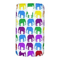 Rainbow Colors Bright Colorful Elephants Wallpaper Background Galaxy S4 Active