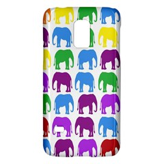Rainbow Colors Bright Colorful Elephants Wallpaper Background Galaxy S5 Mini