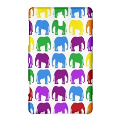Rainbow Colors Bright Colorful Elephants Wallpaper Background Samsung Galaxy Tab S (8 4 ) Hardshell Case