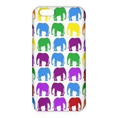 Rainbow Colors Bright Colorful Elephants Wallpaper Background iPhone 6/6S TPU Case