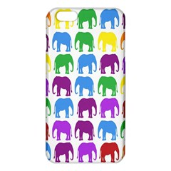 Rainbow Colors Bright Colorful Elephants Wallpaper Background Iphone 6 Plus/6s Plus Tpu Case