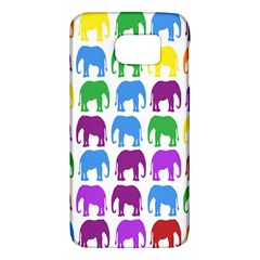 Rainbow Colors Bright Colorful Elephants Wallpaper Background Galaxy S6