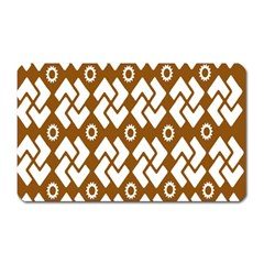 Art Abstract Background Pattern Magnet (Rectangular)