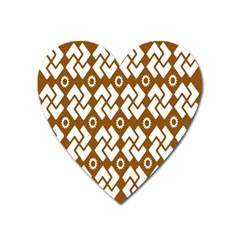 Art Abstract Background Pattern Heart Magnet