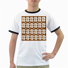 Art Abstract Background Pattern Ringer T Shirts