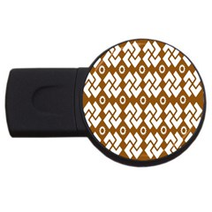 Art Abstract Background Pattern Usb Flash Drive Round (4 Gb)