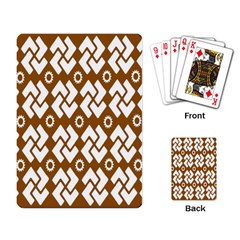 Art Abstract Background Pattern Playing Card