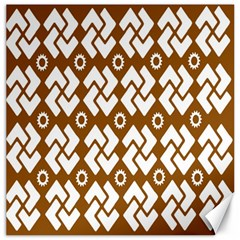 Art Abstract Background Pattern Canvas 16  x 16