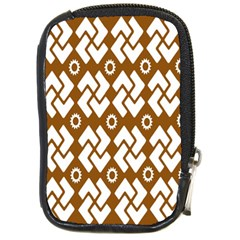 Art Abstract Background Pattern Compact Camera Cases