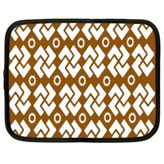 Art Abstract Background Pattern Netbook Case (xl)