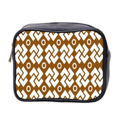 Art Abstract Background Pattern Mini Toiletries Bag 2 Side