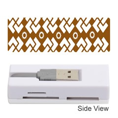 Art Abstract Background Pattern Memory Card Reader (Stick)