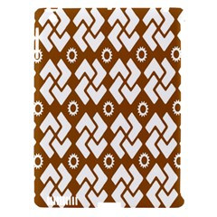 Art Abstract Background Pattern Apple iPad 3/4 Hardshell Case (Compatible with Smart Cover)