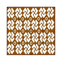Art Abstract Background Pattern Acrylic Tangram Puzzle (6  x 6 )