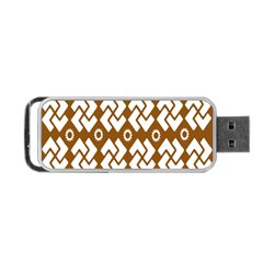 Art Abstract Background Pattern Portable USB Flash (Two Sides)