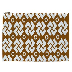 Art Abstract Background Pattern Cosmetic Bag (xxl)