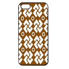 Art Abstract Background Pattern Apple Iphone 5 Seamless Case (black)