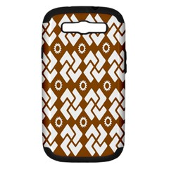 Art Abstract Background Pattern Samsung Galaxy S III Hardshell Case (PC+Silicone)