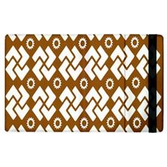 Art Abstract Background Pattern Apple iPad 2 Flip Case
