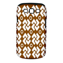 Art Abstract Background Pattern Samsung Galaxy S III Classic Hardshell Case (PC+Silicone)