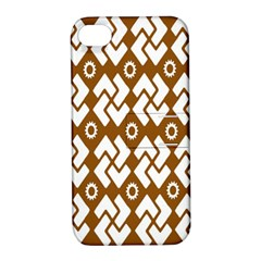 Art Abstract Background Pattern Apple iPhone 4/4S Hardshell Case with Stand
