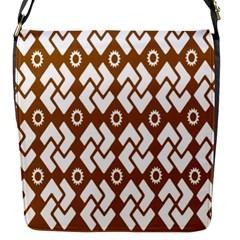 Art Abstract Background Pattern Flap Messenger Bag (S)