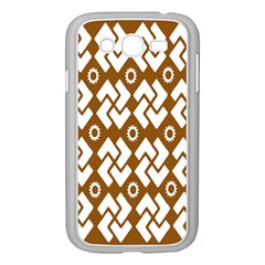 Art Abstract Background Pattern Samsung Galaxy Grand DUOS I9082 Case (White)