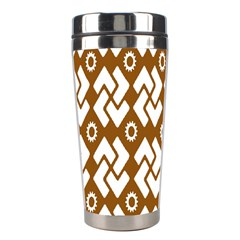 Art Abstract Background Pattern Stainless Steel Travel Tumblers