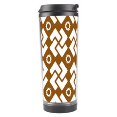 Art Abstract Background Pattern Travel Tumbler